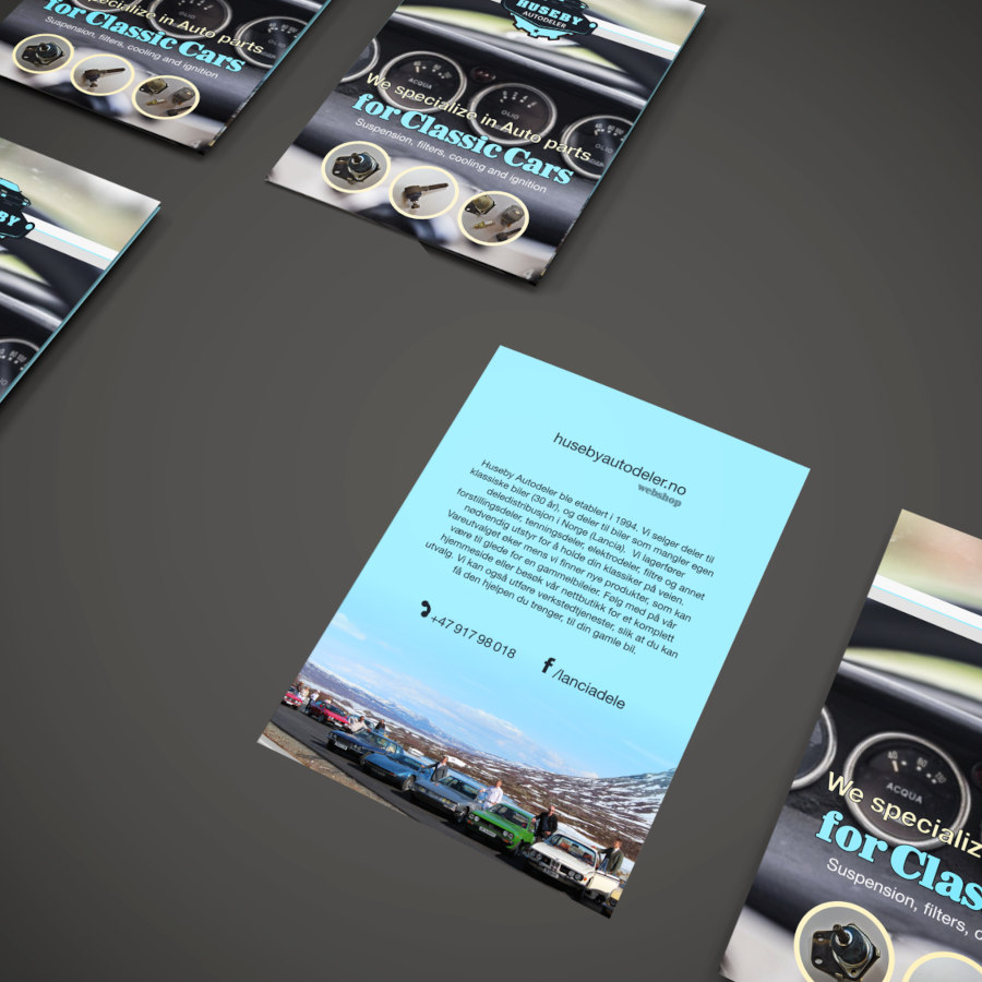 Marketing ads and flyer | HA